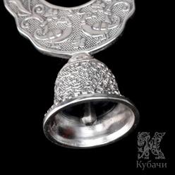 Ложка чайная «Бегемотик». Серебро 875/925 (арт. 875217)